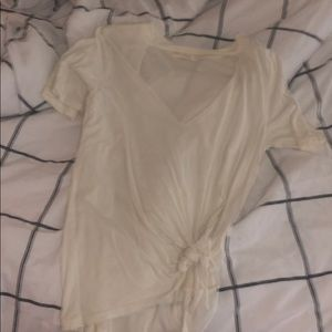 Cute white urban outfitters top!